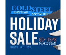 Cold Steel Holiday Sale