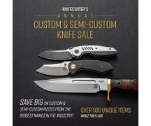 Annual Custom and Semi-Custom Knife Sale