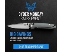 Benchmade Cyber Monday Sales Event