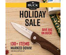 Buck Holiday Sale