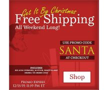 Get It By Christmas FREE SHIPPING WEEKEND