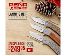 Pena X Series Lanny's Clip Flippers On Sale