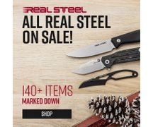 All Real Steel Knives On Sale
