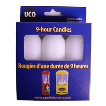 UCO 9-Hour Regular Candles, 3 Pack
