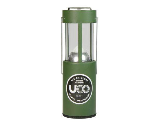 UCO The Original Candle Lantern, Green Powder Coated Aluminum, 20 Max Lumens