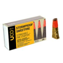UCO Stormproof Sweetfire Strikeable Fire Starter, 20 Pack