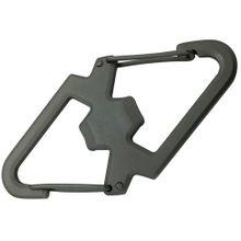 Munkees Stainless Steel Carabiner with Bottle Opener