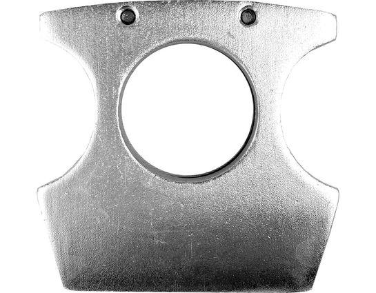 Silver Self-Defense Money Clip, 2 inch x 2 inch
