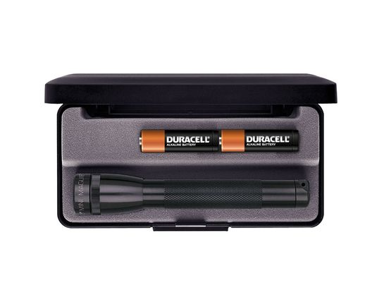 Maglite Minimag AA Flashlight in Gift Box - Black Body