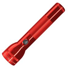 Maglite 2 D Cell LED Flashlight - Red Body