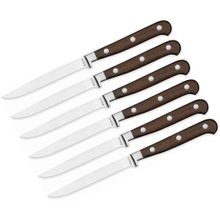 Maserin 2095/AP2 Apollo 2 Six Piece Steak Knife Set, Paosantos Wood Handles
