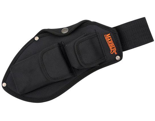 Marble's Heavy Black Nylon Belt Sheath for Bolo Camp Cleaver (51214)