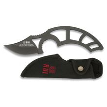 RUI Tactical Fixed Blade, 2.5 inch Plain Blade, Nylon Sheath