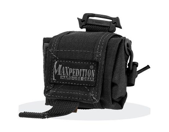 Maxpedition 0207B Mini Rollypoly Folding Dump Pouch, Black