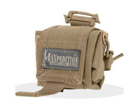 Maxpedition 0207K Mini Rollypoly Folding Dump Pouch, Khaki
