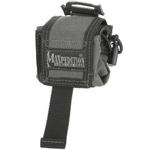 Maxpedition 0207W Mini Rollypoly Folding Dump Pouch, Wolf Gray