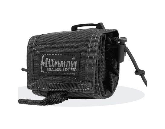 Maxpedition 0208B Rollypoly Folding Dump Pouch, Black