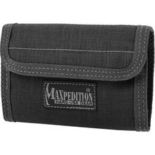 Maxpedition 0229B Spartan Wallet, Black