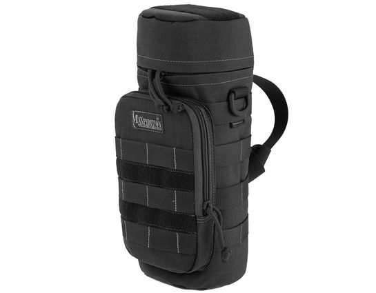 Maxpedition 0323B 12 inch x 5 inch Bottle Holder, Black
