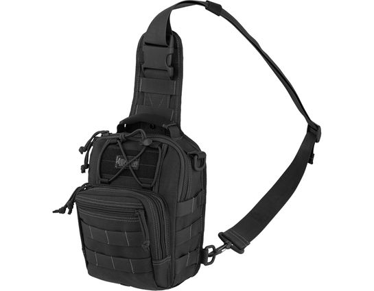 Maxpedition 0419B Remora Gearslinger Bag, Black