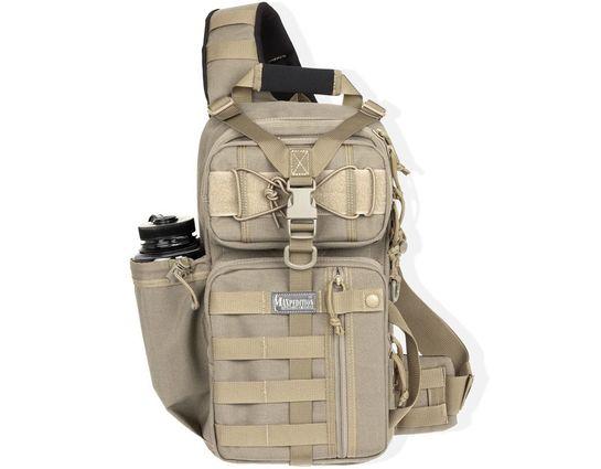 Maxpedition 0431K Sitka Gearslinger Backpack, Khaki