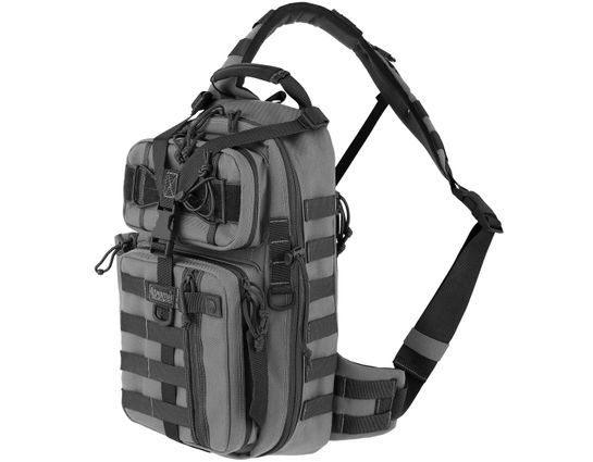 Maxpedition 0431W Sitka Gearslinger Backpack, Wolf Gray