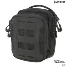 Maxpedition AUPBLK Advanced Gear Research AGR AUP Accordion Utility Pouch, Black