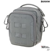Maxpedition AUPGRY Advanced Gear Research AGR AUP Accordion Utility Pouch, Gray