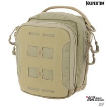 Maxpedition AUPTAN Advanced Gear Research AGR AUP Accordion Utility Pouch, Tan