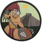 Maxpedition AZTCC PVC Aztec Warrior Patch, Color