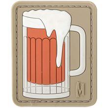 Maxpedition BEERA PVC Beer Mug Patch, Arid