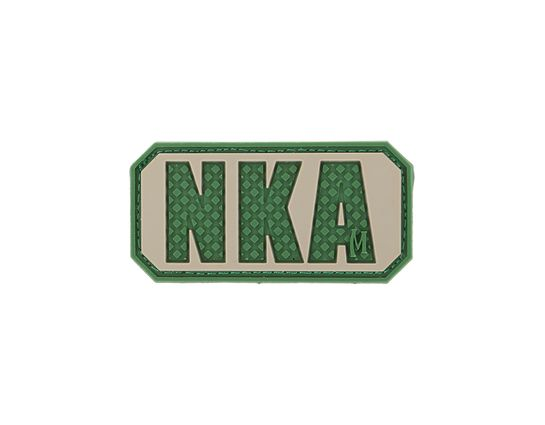 Maxpedition BNKAA PVC No Known Allergies Patch, Arid