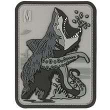 Maxpedition BSHKS PVC Bear Sharktopus Patch, SWAT