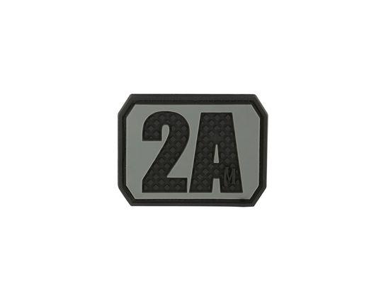 Maxpedition BT2AS PVC 2A Second Amendment Patch, SWAT