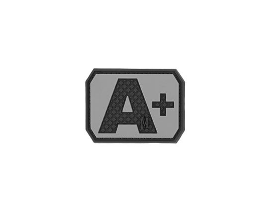 Maxpedition BTAPS PVC A+ Blood Type Patch, SWAT