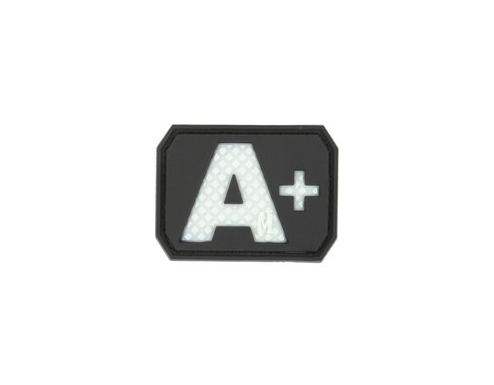 Maxpedition BTAPZ PVC A+ Blood Type Patch, Glow