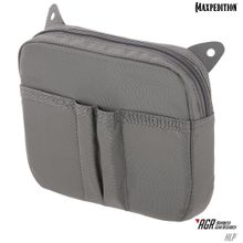 Maxpedition HLPGRY AGR Advanced Gear Research HLP Hook & Loop Pouch, Gray