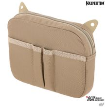 Maxpedition HLPTAN AGR Advanced Gear Research HLP Hook & Loop Pouch, Tan