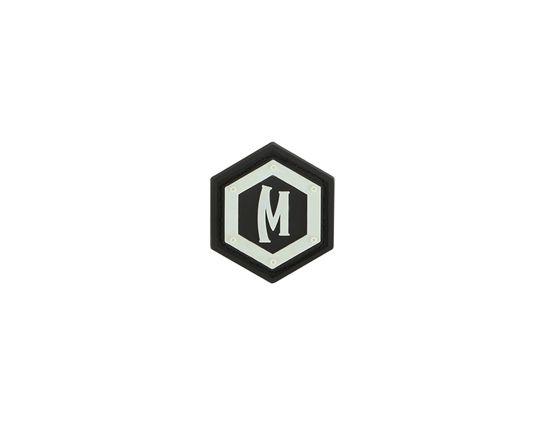 Maxpedition HXLGZ PVC Hex Logo Patch, Glow