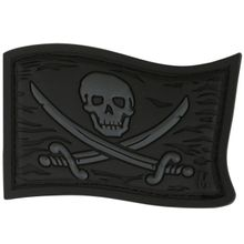 Maxpedition JYRGX PVC Jolly Roger Patch, Stealth