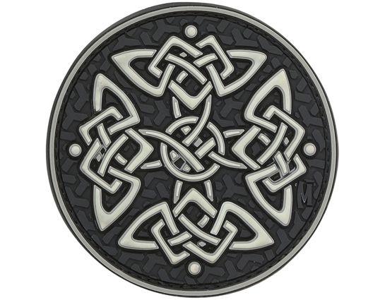 Maxpedition KELTZ PVC Celtic Cross Patch, Glow