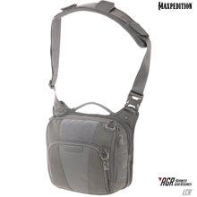 Maxpedition LCRGRY AGR Advanced Gear Research Lochspyr 5.5L Crossbody Shoulder Bag, Gray