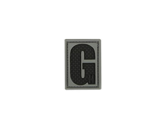Maxpedition LETGS PVC Letter G Patch, SWAT