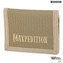 Maxpedition LPWTAN AGR Advanced Gear Research LPW Low Profile Wallet, Tan