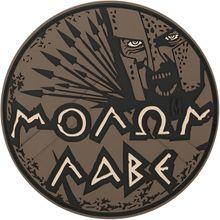 Maxpedition MOLBA PVC Molon Labe Patch, Arid