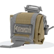 Maxpedition 0207KF Mini Rollypoly Folding Dump Pouch, Khaki-Foliage