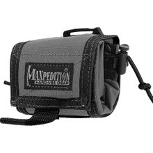 Maxpedition 0208W Rollypoly Folding Dump Pouch, Wolf Gray