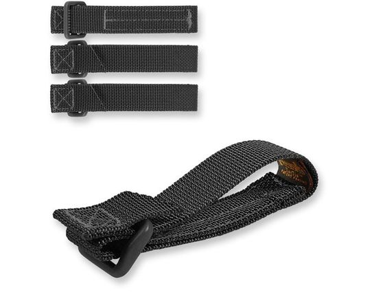 Maxpedition 9903B 3 inch TacTie (Pack of 4), Black