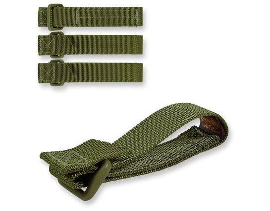 Maxpedition 9903G 3 inch TacTie (Pack of 4), OD Green
