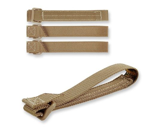 Maxpedition 9905K 5 inch TacTie (Pack of 4), Khaki